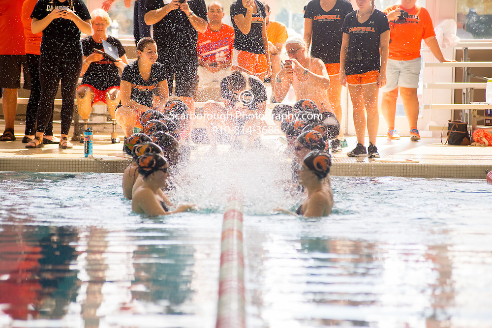 2016 Campbell University Swim Team