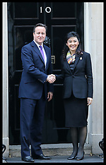 NOV 14 2012 Prime Minister of Thailand in Downing St.,