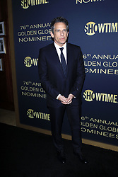 January 5, 2019 - West Hollywood, CA, USA - LOS ANGELES - JAN 5:  Ben Stiller at the Showtime Golden Globe Nominees Celebration at the Sunset Tower Hotel on January 5, 2019 in West Hollywood, CA (Credit Image: © Kay Blake/ZUMA Wire)