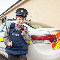 was Oisín Scanlon from Ennis NS at the Ennis Garda Síochána Crime Prevention Art Competition