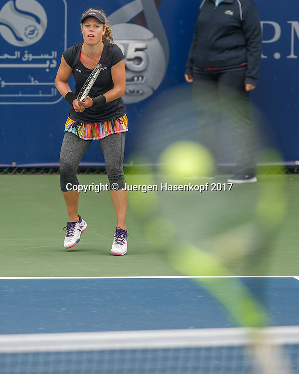 LAURA SIEGEMUND (GER)<br /> <br /> Tennis - Dubai Tennis Championships 2017 -  WTA -  Dubai Duty Free Tennis Stadium - Dubai  -  - United Arab Emirates  - 21 February 2017.