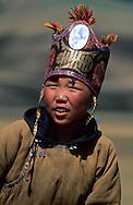 Mongolia. small Naadam , in Ikh Ud near  Hahorin , kid's horse race    /  petit naadam a IKH UD pres de  karakorum - Mongolie