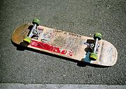 A skateboard, Bristol, 2002