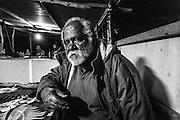 NOUVELLE CALEDONIE,  Arama  - portrait de Abraham Kamo GAGNE -  Aire Coutumiere de Hoot Ma Waap, region de POUM - Aout 2013