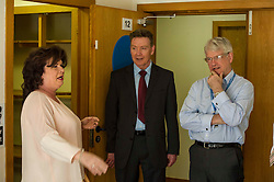Elaine C Smith was on hand today to cut the ribbon on the Alcohol Related Brain Damage Unit run by voluntary organisation Penumbra in partnership with NHS Lothian and City of Edinburgh Council.  Graham Henderson, director of services and development at Pernumba and Brian Houston, Chair of NHS lothian, were on hand to show Ms SMith around the unit. Edinburgh 23 April 2015  Ger Harley, StockPix.eu