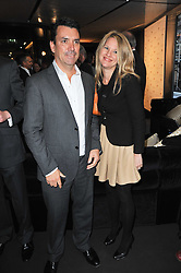 Nick Cowell and Katie Cowell at the launch of One Hyde Park, The Residences at Mandarin Oriental, Knightsbridge, London on 19th January 2011.