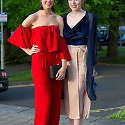 13.05.2016.           <br /> Niamh Maher, Cashel Co. Tipperary and Deirbhile Coyle, Donegal pictured at the much anticipated Limerick School of Art & Design, LIT, (LSAD) Graduate Fashion Show on Thursday 12th May 2016. The show took place at the LSAD Gallery where 27 graduates from the largest fashion degree programme in Ireland showcased their creations. Ranked among the world's top 50 fashion colleges, Limerick School of Art and Design is continuing to mold future Irish designers.. Picture: Alan Place/Fusionshooters