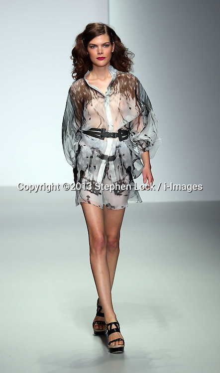 Maria Grachvogel show at London Fashion Week Spring/Summer 2014, Tuesday, 17th September 2013. Picture by Stephen Lock / i-Images