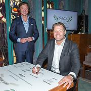 NLD/Amsterdam/20190910 - Lancering Platform Celebabs, Frits Sissing en Dennis van der Geest