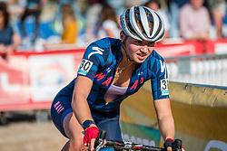 Emily WADSWORTH (GBR) during the Women Elite race at the 2018 Telenet Superprestige Cyclo-cross #1 Gieten, UCI Class 1, Gieten, Drenthe, The Netherlands, 14 October 2018. Photo by Pim Nijland / PelotonPhotos.com | All photos usage must carry mandatory copyright credit (Peloton Photos | Pim Nijland)