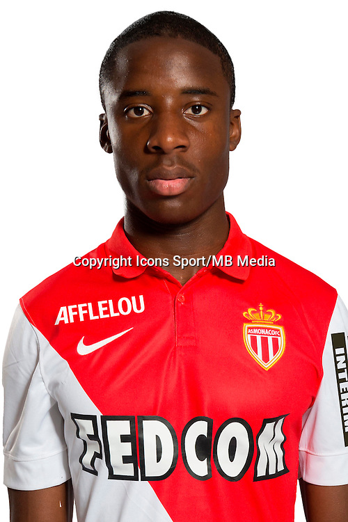 Dylan BAHAMBOULA - 29.08.2014 - Photo officielle Monaco - Ligue 1 2014/2015<br /> Photo : Stephane Senaux / AS Monaco / Icon Sport
