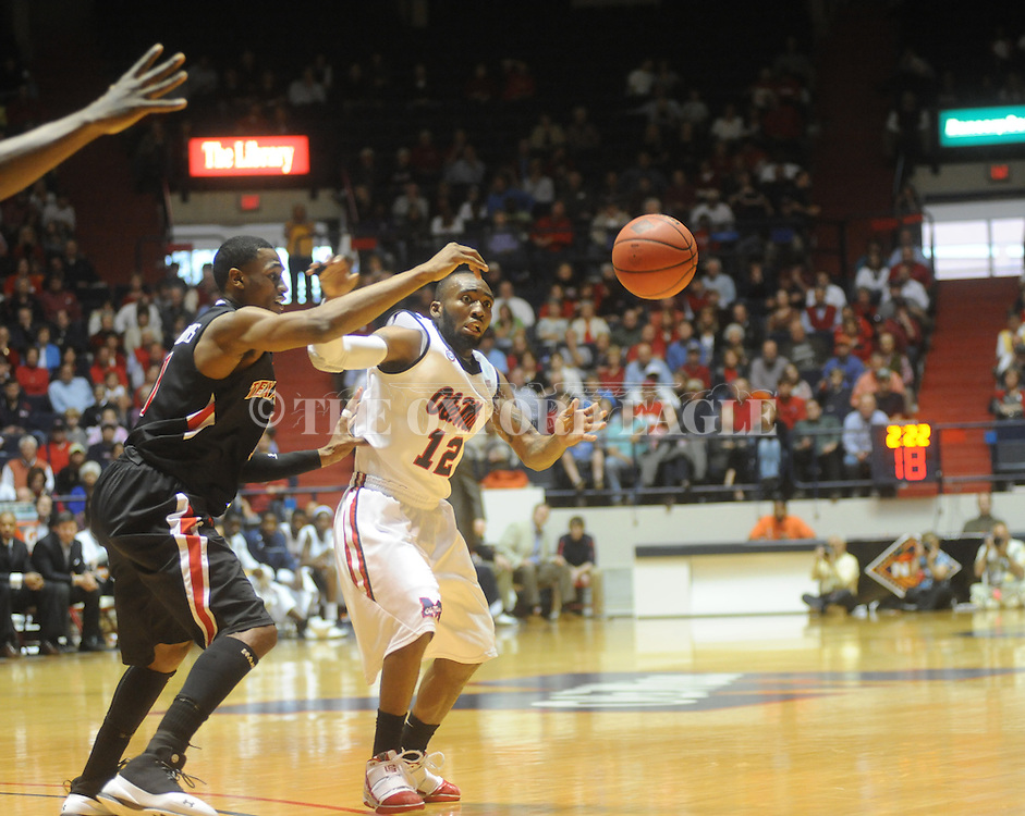 Mississippi's Chris Warren (12) vs. Texas Tech in the third round of the NIT in Oxford, Miss. on Tuesday, March 23, 2010. Ole Miss won 90-87 in double overtime.