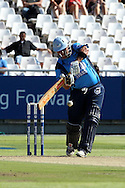 Pierre Joubert of the Titans during the Standard Bank Pro20 semi final match between the Nashua Mobile Cape Cobras and the Nashua Titans held at Sahara Park Newlands in Cape Town on the 27 February 2011..Photo by Ron Gaunt/SPORTZPICS