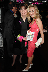 Left to right, SARAH HUGILL and her daughter IMOGEN LLOYD WEBBER at a party to celebrate her 30th birthday and the launch of her Single Girl's Guide held at Vilstead, 9 Swallow Street, London on 27th March 2007.<br /><br />NON EXCLUSIVE - WORLD RIGHTS