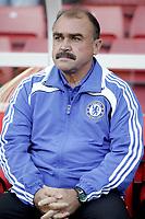 Stoke v Chelsea Premier League 27/09/2008 Flavio Teixeira Chelsea Assistant first team coach. Photo Patrick McCann/Fotosports International