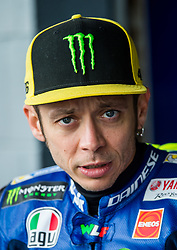 October 21, 2017 - Melbourne, Victoria, Australia - Italian rider Valentino Rossi (#46) of Movistar Yamaha MotoGP before the third free practice session at the 2017 Australian MotoGP at Phillip Island, Australia. (Credit Image: © Theo Karanikos via ZUMA Wire)