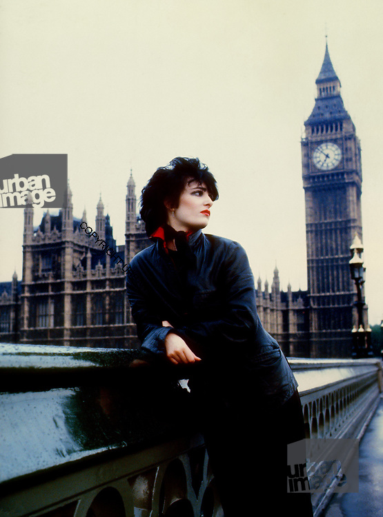 Budgie -Siouxsie Sioux at Westminster 1980