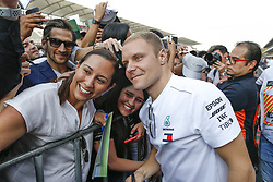 October 25, 2018 - Mexico-City, Mexico - Motorsports: FIA Formula One World Championship 2018, Grand Prix of Mexico, .#77 Valtteri Bottas (FIN, Mercedes AMG Petronas Motorsport) (Credit Image: © Hoch Zwei via ZUMA Wire)