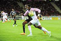 Clarck NSIKULU - 09.05.2015 -  Evian Thonon / Reims  - 36eme journee de Ligue 1<br />Photo : Jean Paul Thomas / Icon Sport