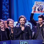 NLD/Amsterdam/20130418- Uitreiking 3FM Awards 2013, beste live band voor Kensington