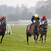 Ballygarvey and T J O'Brien winning the 2.00 race