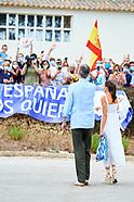 081320 Spanish Royals visit Menorca, Alaior