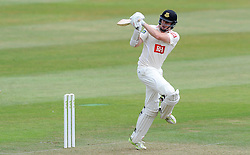 Sussex's Luke Wells pulls the ball. - Photo mandatory by-line: Harry Trump/JMP - Mobile: 07966 386802 - 05/07/15 - SPORT - CRICKET - LVCC - County Championship Division One - Somerset v Sussex- The County Ground, Taunton, England.
