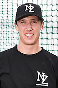Max Brown.<br /> New Zealand Diamond Blacks Baseball Team headshots.<br /> Llloyd Elsmore Park, Pakuranga, Auckland, New Zealand. 4 February 2016.<br /> Copyright photo: Andrew Cornaga / www.photosport.nz