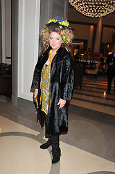 KATRINE BOORMAN at a dinner hosted by Pablo Ganguli and Ella Krasner to celebrate the 10th Anniversary of Liberatum and in honour of Sir Peter Blake held at The Corinthia Hotel, Nortumberland Avenue, London on 23rd November 2011.