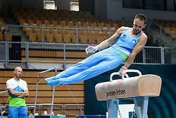 Saso Bertoncelj of Slovenia at Pommel Horse during Qualifications of Artistic Gymnastics FIG World Challenge Koper 2018, on May 31, 2017 in Arena Bonifika, Koper, Slovenia. Photo by Matic Klansek Velej/ Sportida