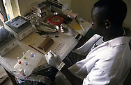 laboratory technician in Uganda