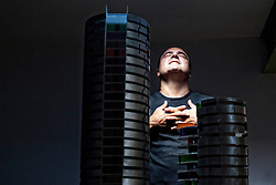 Barcelona, Catalunya, Spain Vicente Guallart,architect.<br /> &copy;Carmen Secanella