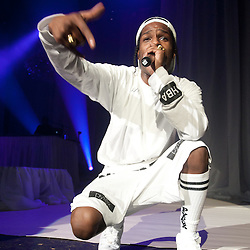 London, UK - 21 May 2013: A$AP Rocky performs live at O2 Academy Brixton
