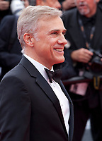 Actor Christoph Waltz at the Yomeddine gala screening at the 71st Cannes Film Festival, Wednesday 9th May 2018, Cannes, France. Photo credit: Doreen Kennedy