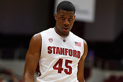 December 15, 2010; Stanford, CA, USA;  Stanford Cardinal guard Jeremy Green (45) before a free throw against the North Carolina A&T Aggies during the first half at Maples Pavilion.  Stanford defeated North Carolina A&T 76-59.