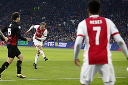 Siem de Jong of Ajax during the Dutch Eredivisie match between Ajax Amsterdam and sbv Excelsior at the Amsterdam Arena on December 14, 2017 in Amsterdam, The Netherlands