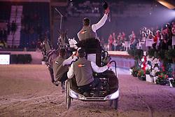 De Ronde Koos (NED)<br /> FEI World Cup Driving<br /> Flanders Christmas Jumping - Mechelen 2012<br /> © Dirk Caremans