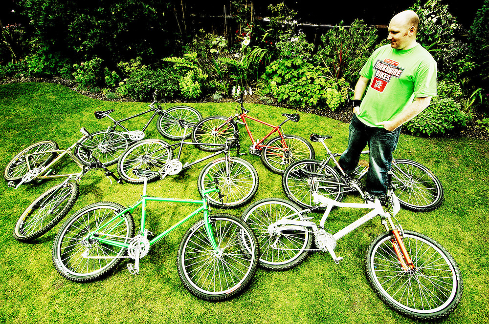 Retro mountain bike collectors