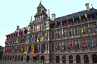 The Rathaus in Antwerp, Belgium