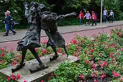 15-07-2019 NED: Nationale Diabetes Challenge, Den Haag<br /> Diverse gezondheidscentra, huisartsenpraktijken en fysiotherapie praktijken zijn met ondersteuning van de BvdGF gestart met een lokale wandel challenge. De grote finale vindt plaats op 29 september in het Zuiderpark Den Haag
