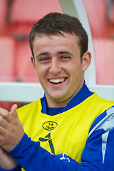 STOKE, ENGLAND - Saturday, May 1, 2010: Everton's Jose Baxter before the Premiership match against Stoke City at Britannia Stadium. (Photo by David Rawcliffe/Propaganda)