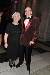 DAVID and SOPHIE SHALIT parents of Jonathan Shalit at the 50th birthday party for Jonathan Shalit held at the V&A Museum, London on 17th April 2012.
