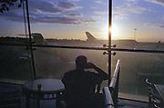 Atrium de l'aeroport de Seattle, Washington State. Voyage USA 2009 (Leica M6) // Seattle aerport Atrium (Whashington State)