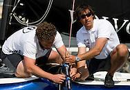 08_00366 © Sander van der Borch. Valencia - Spain,  May 18th 2008 . Extreme40 practice regatta.