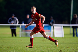 BLACKBURN, ENGLAND - Saturday, January 6, 2018: Liverpool's Paul Glatzel during an Under-18 FA Premier League match between Blackburn Rovers FC and Liverpool FC at Brockhall Village Training Ground. (Pic by David Rawcliffe/Propaganda)