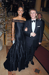 ANDREA DELLAL and JASPER CONRAN at the Feast of Albion a sumptious locally-sourced banquet in aid of The Soil Association held at The Guildhall, City of London on 12th March 2008.<br />