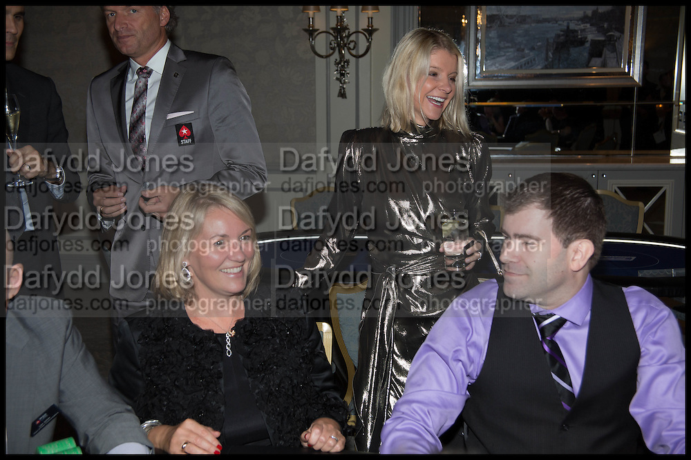 NICKY MERRIMAN; LAURA ATHERLEY, Quintessentially Foundation Poker Night,  annual poker night,  to raise money for Right to play, Greenhouse and Place2Be. Savoy. 13 November 2014.