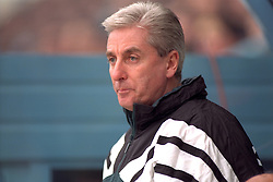 COVENTRY, ENGLAND - Saturday, April 6, 1996: Liverpool's manager Roy Evans against Coventry City during the Premiership match at Highfield Road. Coventry won 1-0. (Pic by David Rawcliffe/Propaganda)