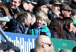 A Northampton Saints fan in the crowd - Mandatory by-line: Robbie Stephenson/JMP - 27/03/2016 - RUGBY - Franklin's Gardens - Northampton, England - Northampton Saints v Harlequins - Aviva Premiership