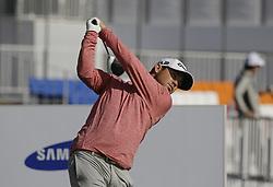 October 19, 2017 - Seogwipo, Jeju Island, South Korea - Brian Harman of USA action on the 10th tee during an PGA TOUR The CJ CUP NINE BRIDGE at Nine Bridge CC in Jeju, South Korea. (Credit Image: © Ryu Seung Il via ZUMA Wire)